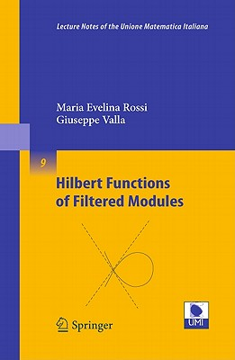Hilbert Functions of Filtered Modules By Rossi, Maria Evelina/ Valla, Giuseppe